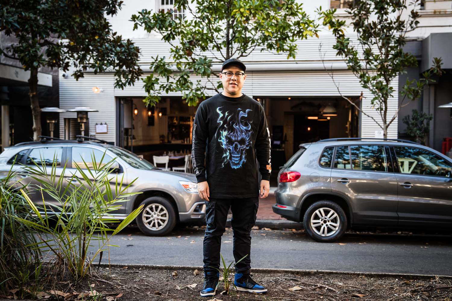 Dan Hong outside Lotus 2.0, Potts Point | Photography by Nikki To